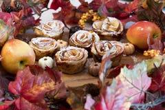 Rose Apples voor Thanksgiviing Stock Foto's