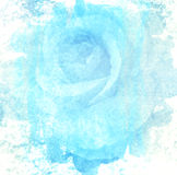 Rose art with fade abstract texture Royalty Free Stock Images