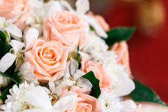 Rose. Artificial flower for wedding and party decoration Royalty Free Stock Photo