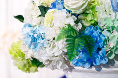 Rose. Artificial flower for wedding and party decoration Stock Images