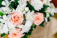 Rose. Artificial flower for wedding and party decoration Royalty Free Stock Image