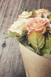 Rose artificial flowers Stock Photography