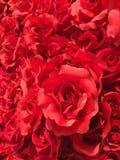 Rose artificiali Fotografia Stock Libera da Diritti