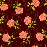 Rose background Stock Image