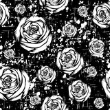 Rose_background 向量例证
