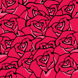 Rose background Stock Photo