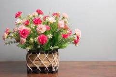 Rose Basket Royalty-vrije Stock Fotografie