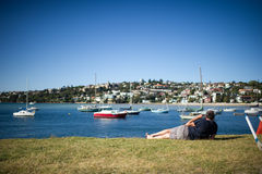 Rose Bay Port Royalty Free Stock Image