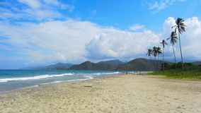 Rose Beach Venezuela Royaltyfria Bilder