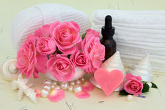 Rose Beauty Treatment Stock Photo