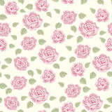 Rose and berry pattern 3 Royalty Free Stock Photos