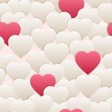 Rose blanc de cerf sans couture de modèle Images libres de droits