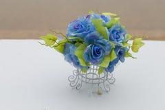 Rose bleue Images libres de droits