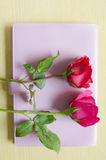 Rose on book Royalty Free Stock Photography