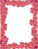 Rose Border Royalty Free Stock Images