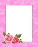 Rose border Royalty Free Stock Image