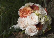 Rose Bouquet. Bride's bouquet at wedding celebration Stock Image