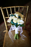 Rose Bouquet bianca Fotografia Stock