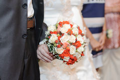 Rose Bouquet classica Immagini Stock Libere da Diritti