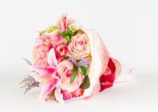 Rose Bouquet de plastique Images libres de droits