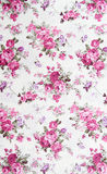 Rose bouquet design Seamless pattern on fabric as  background. Rose bouquet design Seamless pattern on fabric, as  background Royalty Free Stock Image