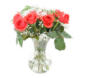 Rose Bouquet of Flowers Stock Image