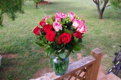 Rose Bouquet no ajuste do ar livre de Texas fotos de stock