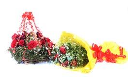 Rose Bouquets Stock Afbeeldingen