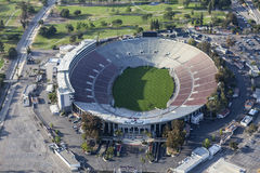 Rose Bowl Aerial Pasadena California Stock Photos