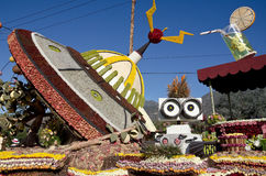 Rose Bowl Parade Float Stock Photo