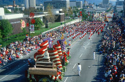 Rose Bowl Parade, Pasadena, CA Stock Images