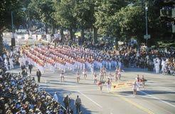 Rose Bowl Parade, Pasadena, Califórnia Foto de Stock