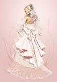 Rose Bride Royalty Free Stock Image