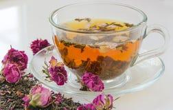 Rose bud tea Stock Photos