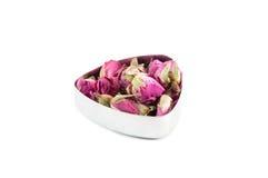 Rose bud tea Stock Photo