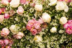 Rose Bunch der Blumen Stockfotografie