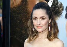 Rose Byrne. At the Los Angeles premiere of 'Neighbors 2: Sorority Rising' held at the Regency Village Theatre in Westwood, USA on May 16, 2016 royalty free stock photos