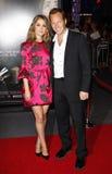 Rose Byrne och Patrick Wilson Royaltyfri Bild
