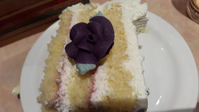 Rose Cake Royaltyfria Foton