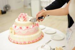Rose Cake Stock Photo