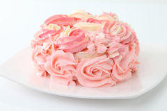 Rose cake Royalty Free Stock Photo