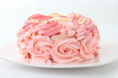 Rose cake Stock Photography