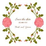 Rose Card Immagini Stock