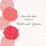 Rose card Royalty Free Stock Image