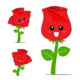 Rose Cartoon 001 Stockfotografie
