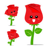 Rose Cartoon 001 Stock Photography