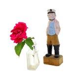 Rose Carved Seaman foto de stock royalty free