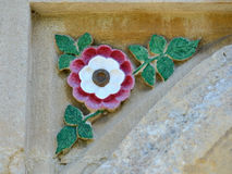 Rose carving Royalty Free Stock Photo