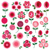 Rose clipart Stock Photography