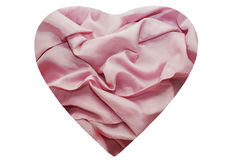 Rose cloth with folds on it Stock Images